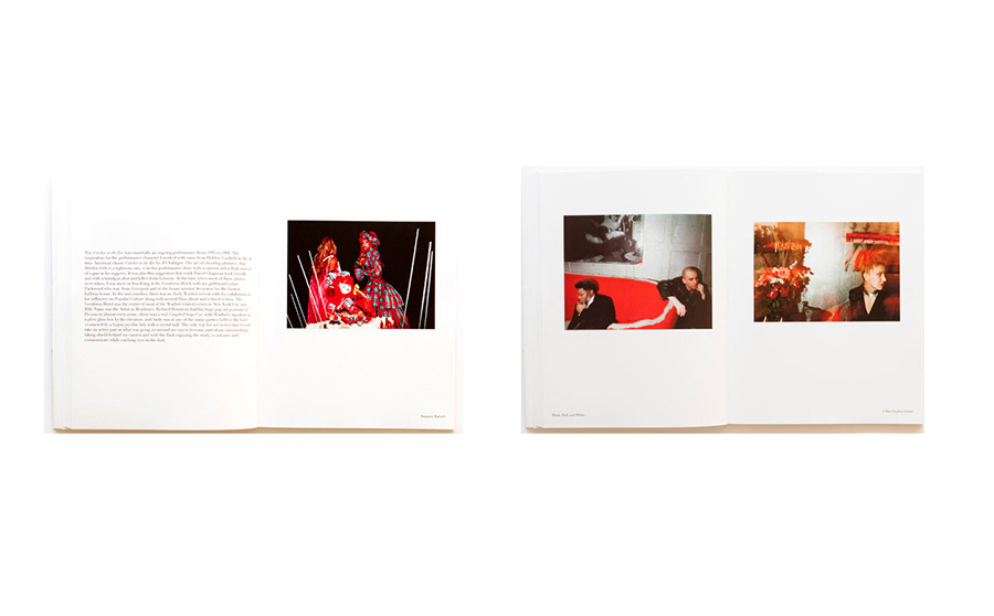 Suzanne Bartsch, The Red Couch and Sophia Lamar