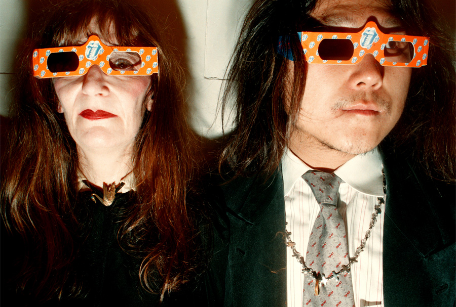 Marcia Resnick & Hiroya in 3D