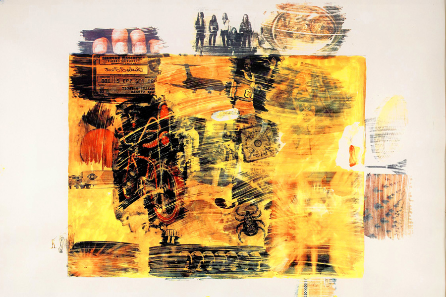 Robert Rauschenberg - Yellow Body