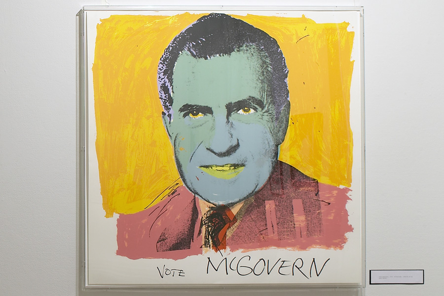 "The ""Vote McGovern"" by Warhol"